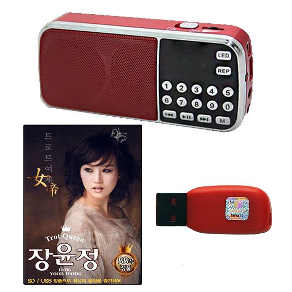 USB노래칩장윤정40곡